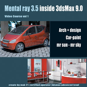 Video Workshop Mental ray 3.5 vol.1 English