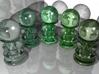 Green Glass Materials (.mat)