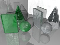 Textured Glass Materials (.mat)