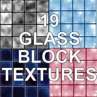 19 GLASS BLOCK TEXTURES