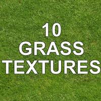 10 GRASS TEXTURES
