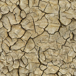 High resolution Cracked dry earth ground 3 + Normal Map
