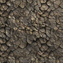 Medium resolution Cracked dry earth ground 07 + Normal Map