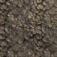 High resolution Cracked dry earth ground 07 + Normal Map