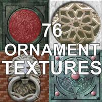 76 ORNAMENT TEXTURES