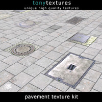 Pavement Kit 01 - High Res