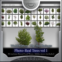 World Matters, Photo-Real Trees vol 1