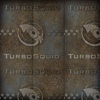 Rusted Metal Panel Texture Map