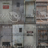 Steel Door Texture Maps