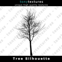 Tree Silhouette 012 - High Res
