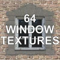 64 WINDOW TEXTURES