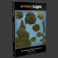 Plant Textures Vol 4 - Topiary Plants