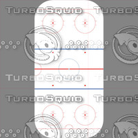 Icehockey field texture - large
