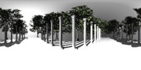 Pillars HDRI