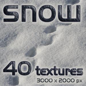 SNOW 40 textures