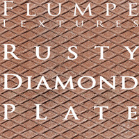 Metal - rusty diamondplate