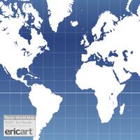 Vector World Map Outline v2.0