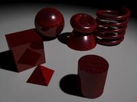 Red Metallic Fleck Paint