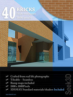40 Seamless Bricks texture 1800 pixels