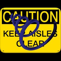 sign_caution_keep_aisles_clear.zip