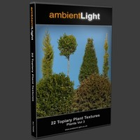 Plant Textures Vol 3 - Topiary Plants