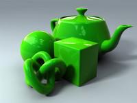 green car material