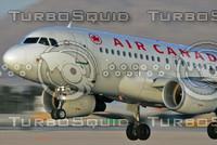 AIRBUS A319 AIR CANADA C-FWTF LAS