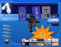 Free Game & 3D Robot Model Demo!