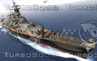 USS BB-63 Battleship