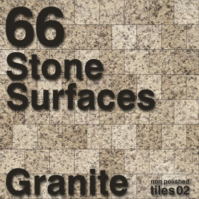 StoneSurfaces Granite Tiles Set 2