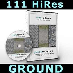 111 Ground Textures Collection - HiRes