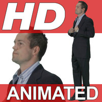 High Definition Animated People Textures - HD John Business