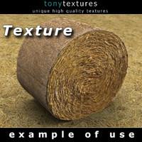 Hay Round Bale Texture
