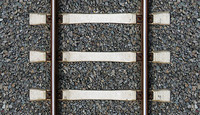 Railway track texture - tileable
