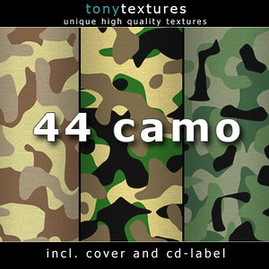Camouflage Collection - tilable and high-res