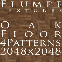 Floor - Oak - 4 Patterns