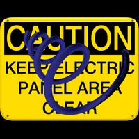 sign_caution_keep_electric_panel_area_clear.zip