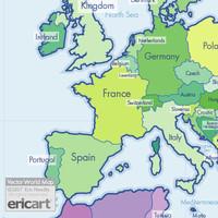 Vector World Map v2.0