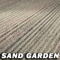 Japanese Sand Garden Texture ----------   High Resolution