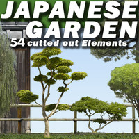 Japanese Trees and Plants Collection  ---- High Resolution