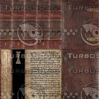 5 Book texture set