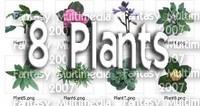 8 Plants Alpha Maps