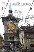 BERN OLD TOWN CLOCK TOWER