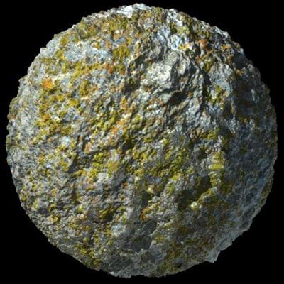 Texture Other Stone Lichen Displace