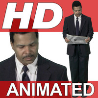 High Definition Animated People Textures - HD Charles Business