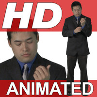 High Definition Animated People Textures - HD Dave Business