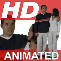 High-Definition-Animated-Person-Textures-HD GroupI Casual