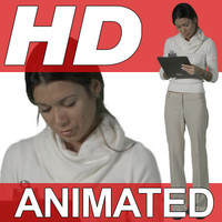 High Definition Animated People Textures - HD Patsy Business