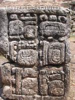 Hi-Res Mayan Stelae texture detail set