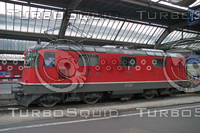 SWISS RE 4/4 III LOCOMOTIVE